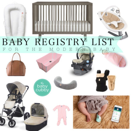 BABY REGISTRY LIST | BABY CUBBY